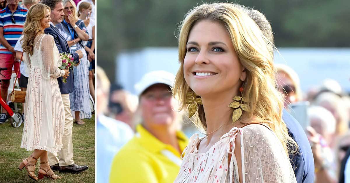 42dfbc708d78 Prinsessan Madeleine firade storasyster i Valentino   Svensk Damtidning