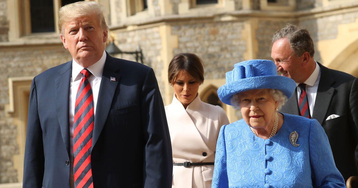Drottning Elizabeths hemliga signaler till Trump