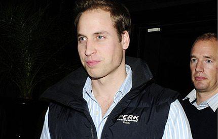Prins William iförd helylle-svenskt!