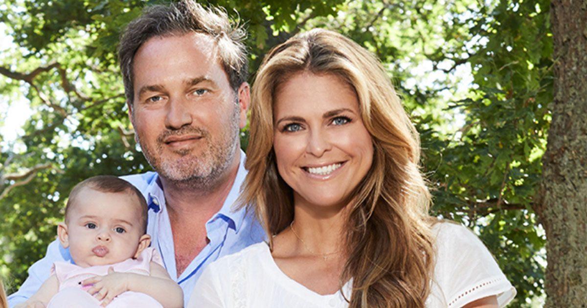 Madeleines nya fina familjebild från Öland
