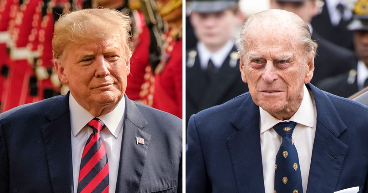 Prins Philip nobbade Trump – det här gjorde han istället