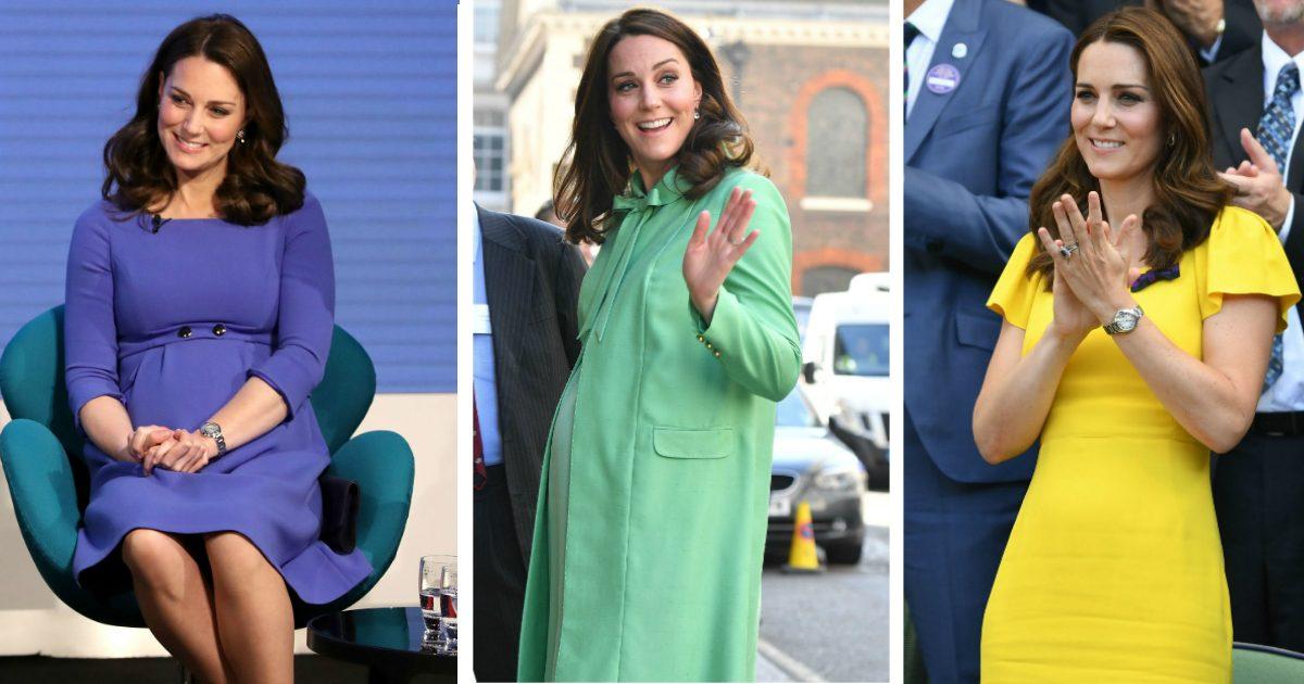 Färgen Kate aldrig någonsin burit – kan du gissa vilken?