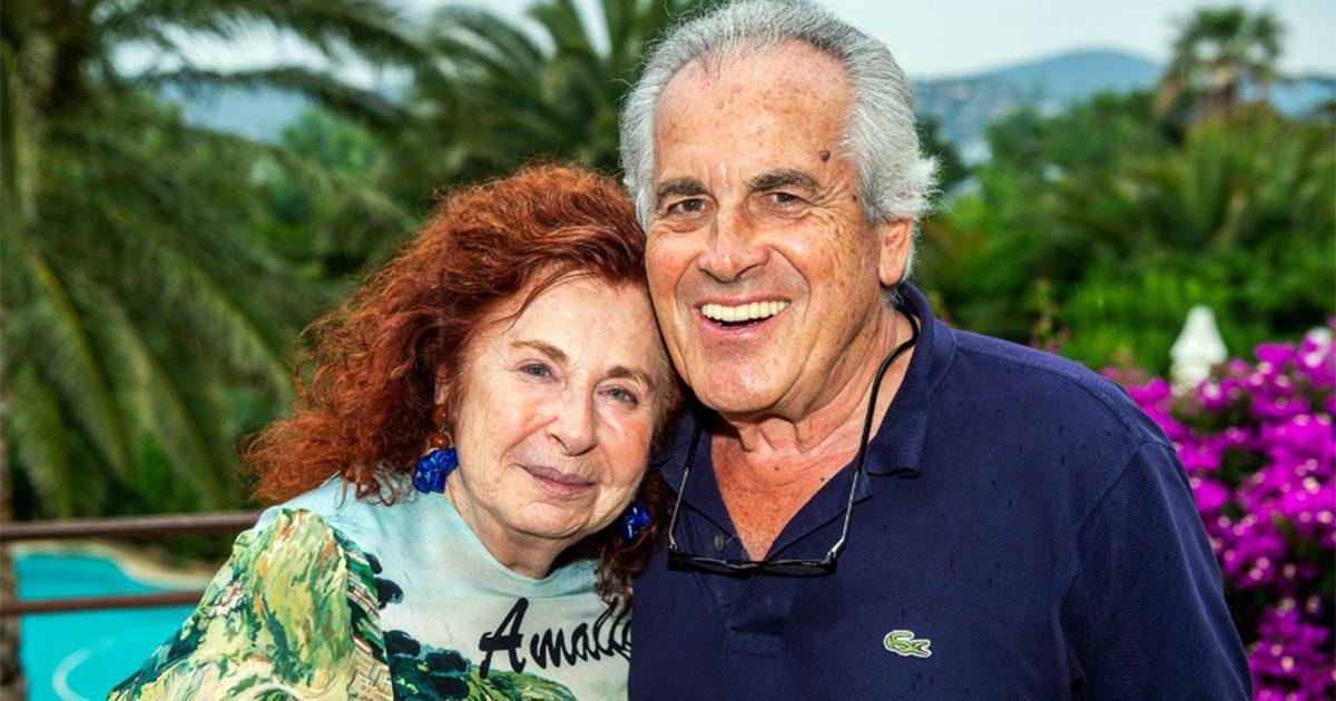 Helen Modini och maken Jean-Claude i hemmet i Sainte-Maxime