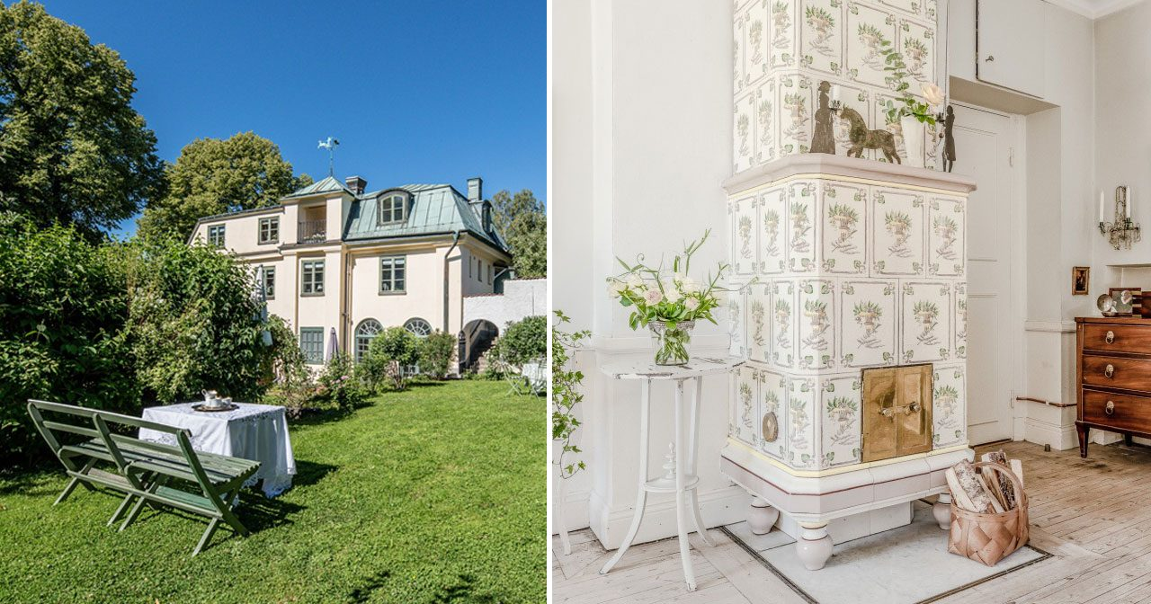 Nu kan du bo granne med kungaparet – se det fantastiska huset!