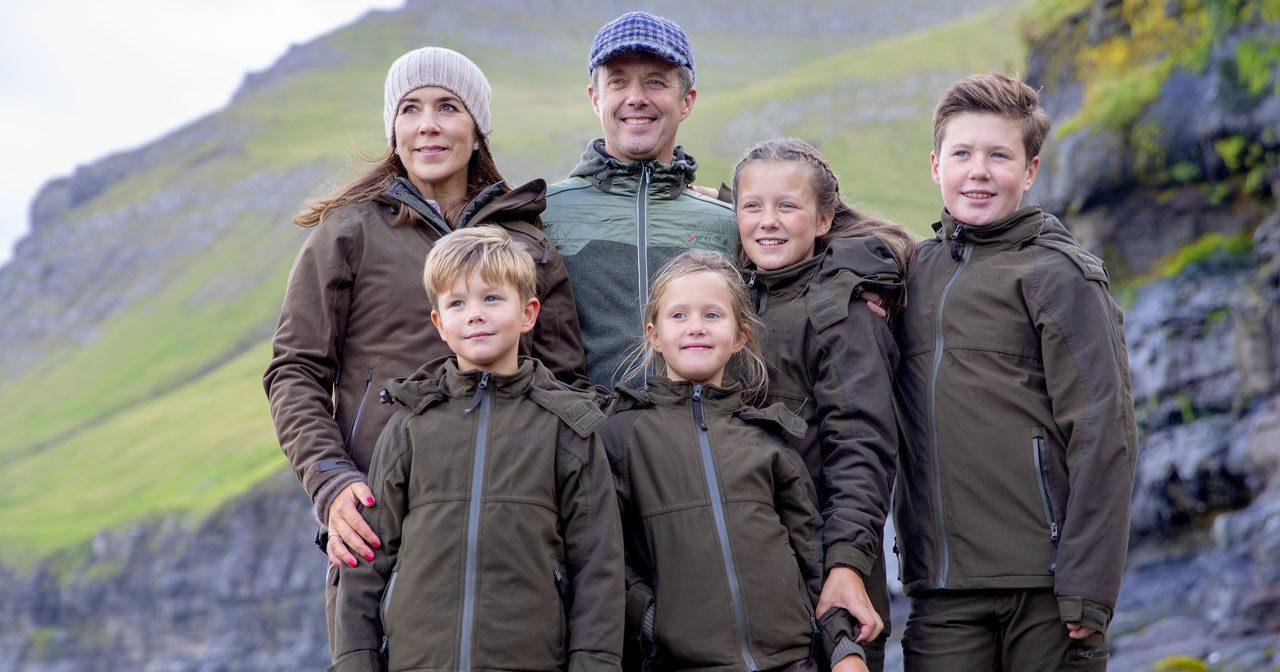 Bildextra från Frederiks och Marys resa med barnen