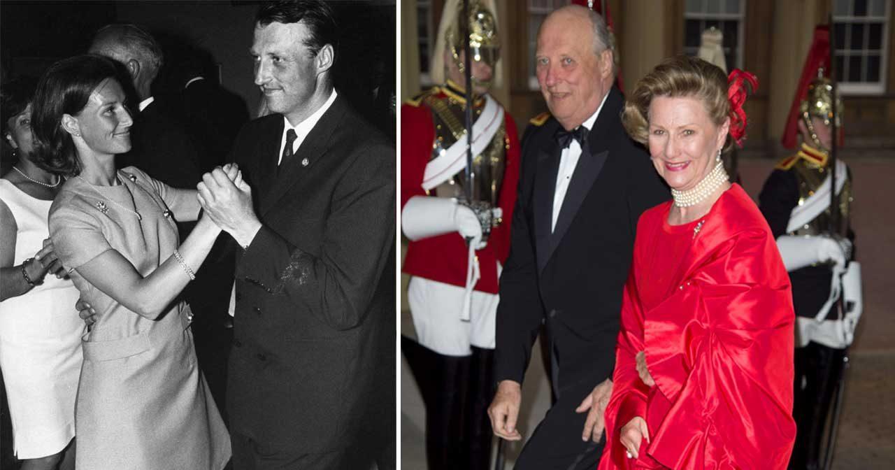 50 år som gifta idag – här är Sonjas och Haralds kärlekssaga!