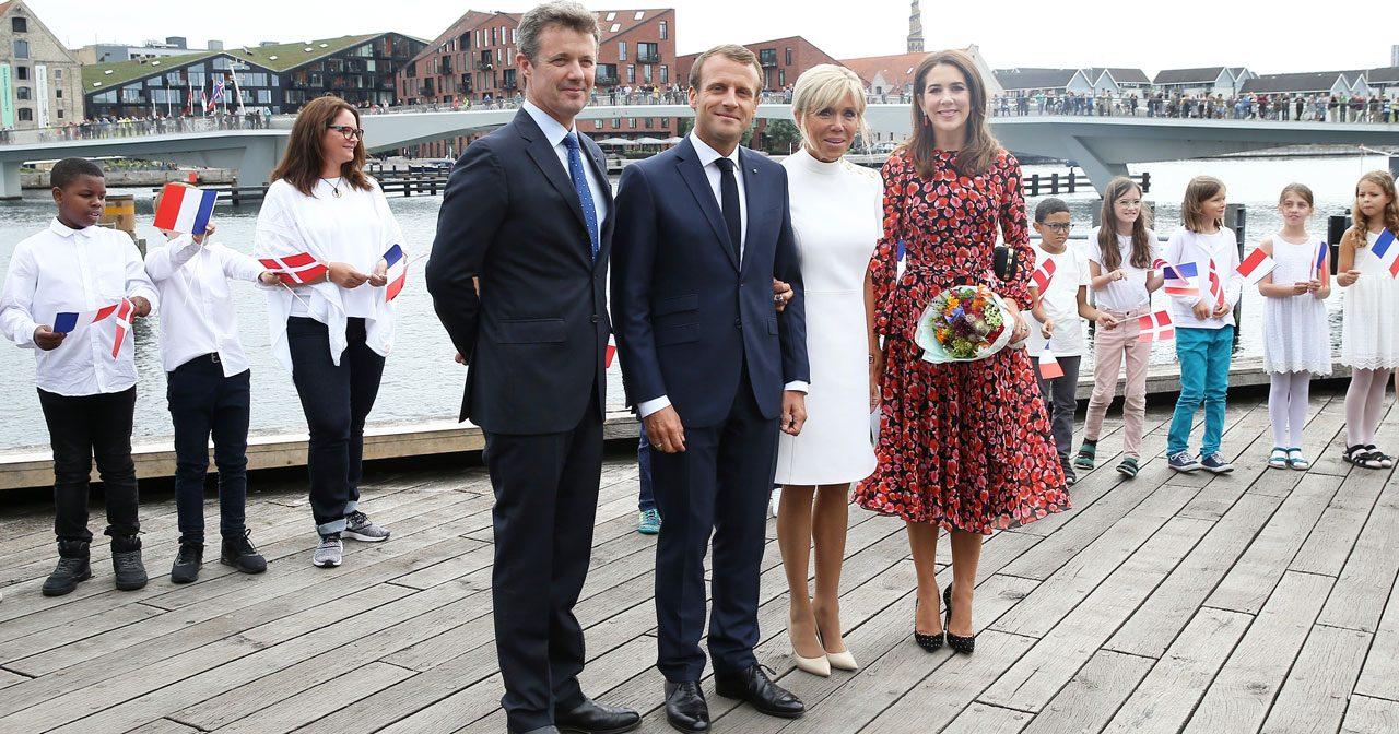 Här fortsätter det franska presidentbesöket i Danmark