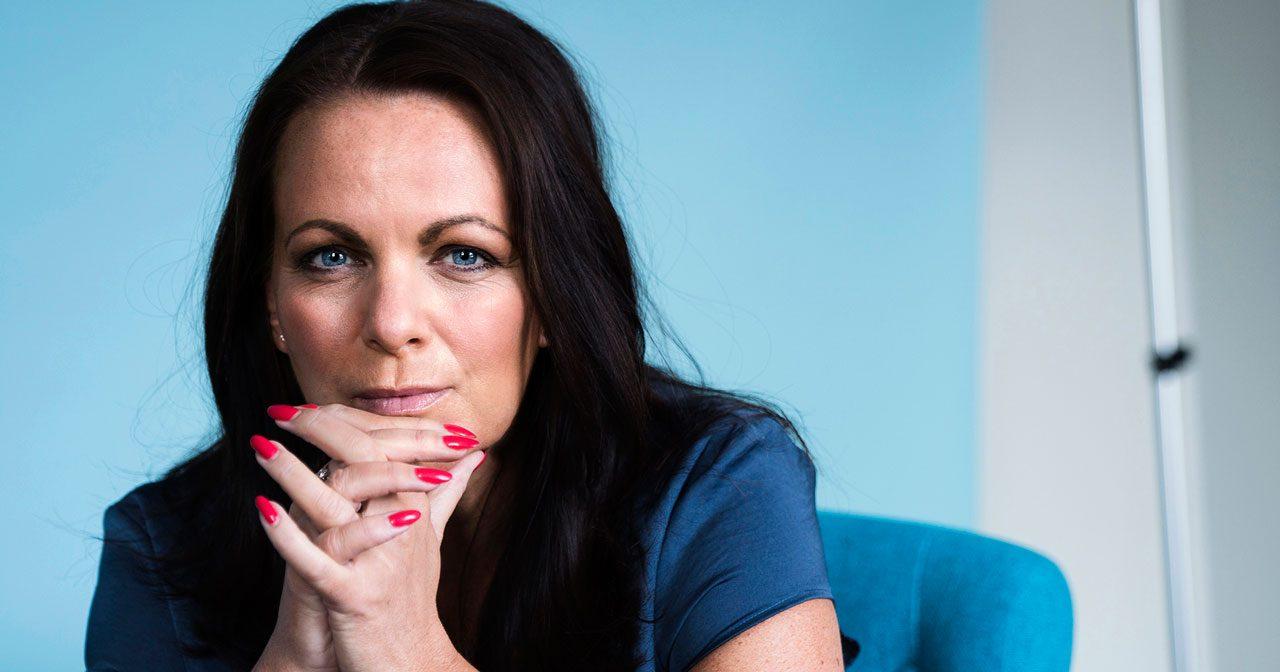 Författaren Katarina Wennstam: