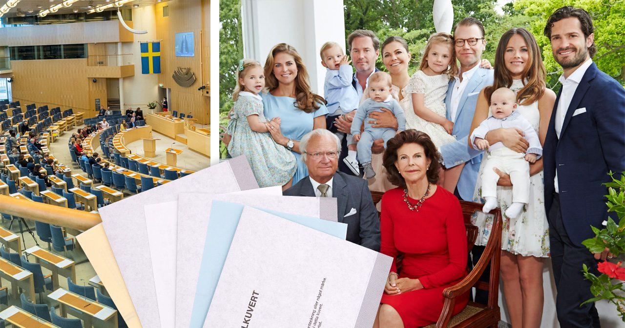 Svensk Damtidnings läsare: Så skulle kungafamiljen rösta i valet