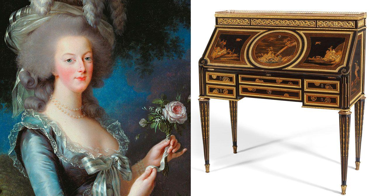Nu kan Marie Antoinettes skrivbord bli ditt!