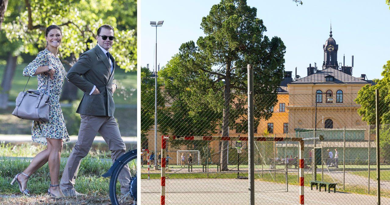 Vi avslöjar! Estelles skola rustar upp – föräldrarna skänker tennisbana