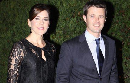 Mary och Frederik älskar att vältra sig i lyx