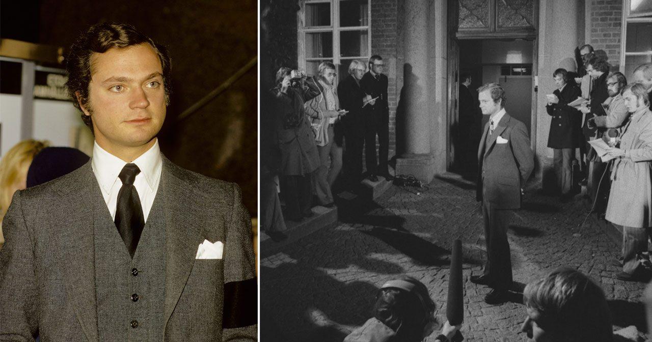 Så var kvällen som förändrade allt – 45 år sedan kungen blev kung