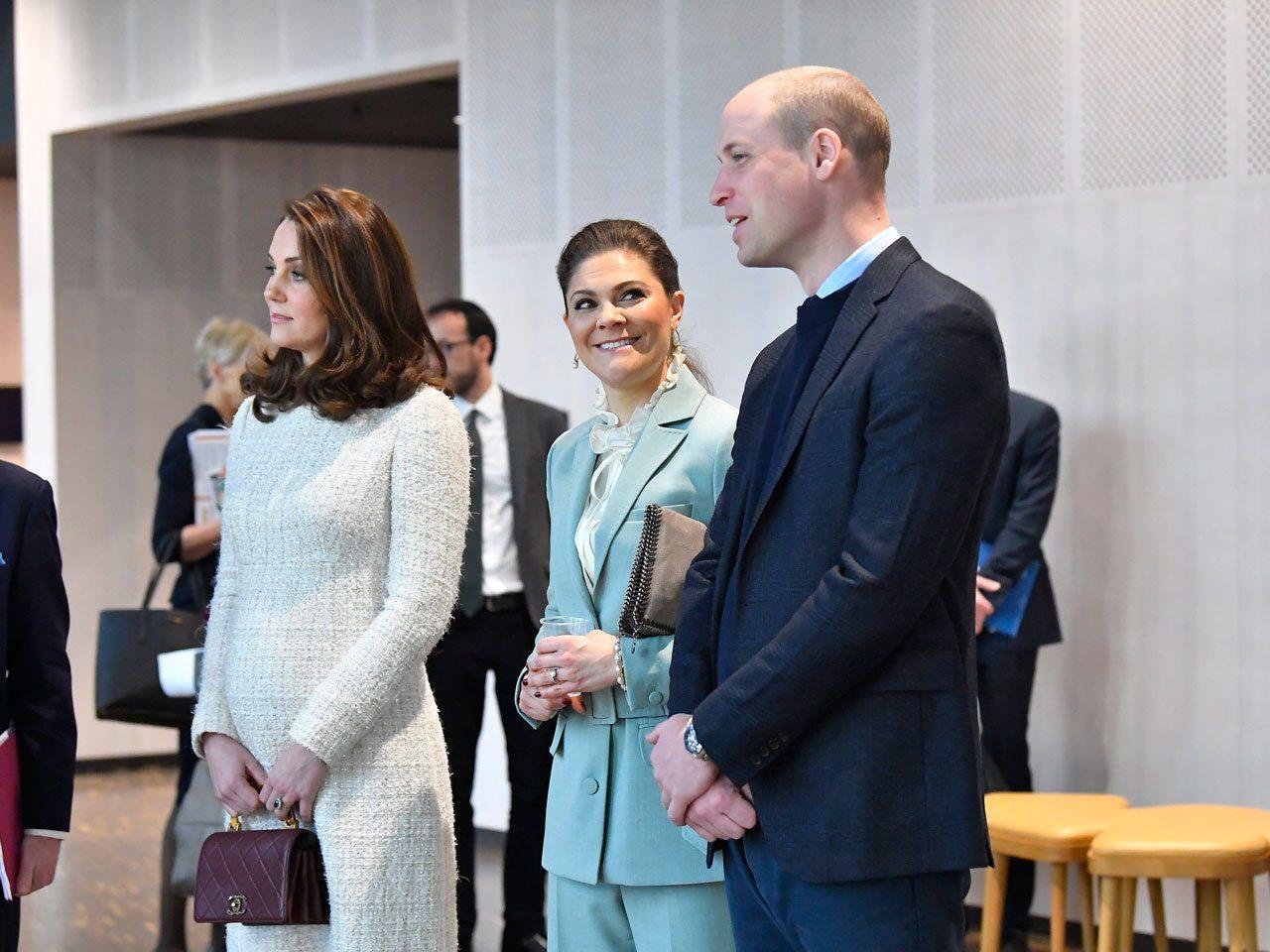 Prins William tänkte på blöjbyte och bebisar under matchen