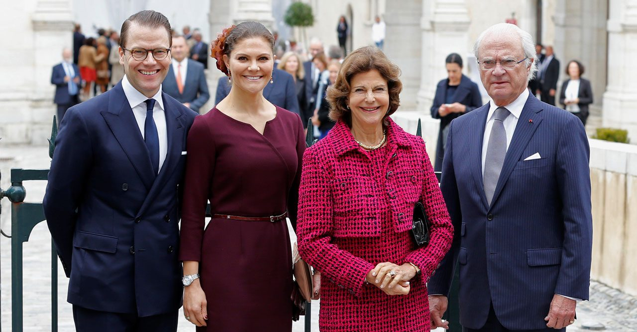 Victoria och Daniel firade släktingen med kungaparet – i Frankrike