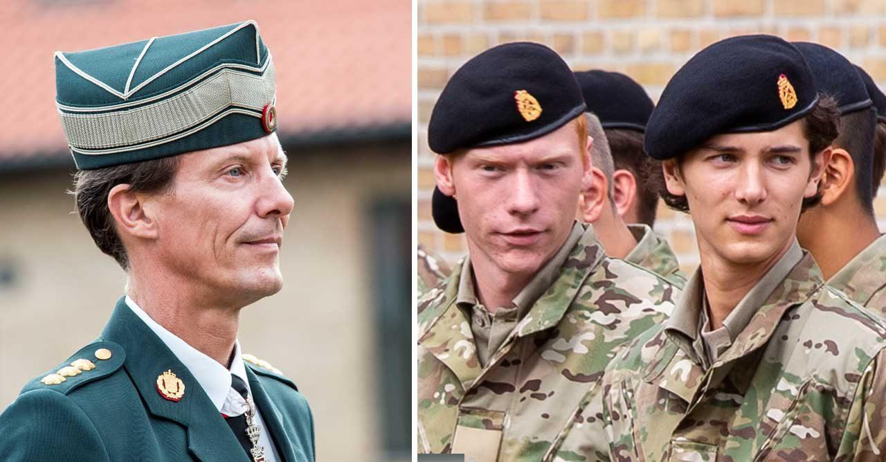 Därför avslutar prins Nikolai sin militärutbildning