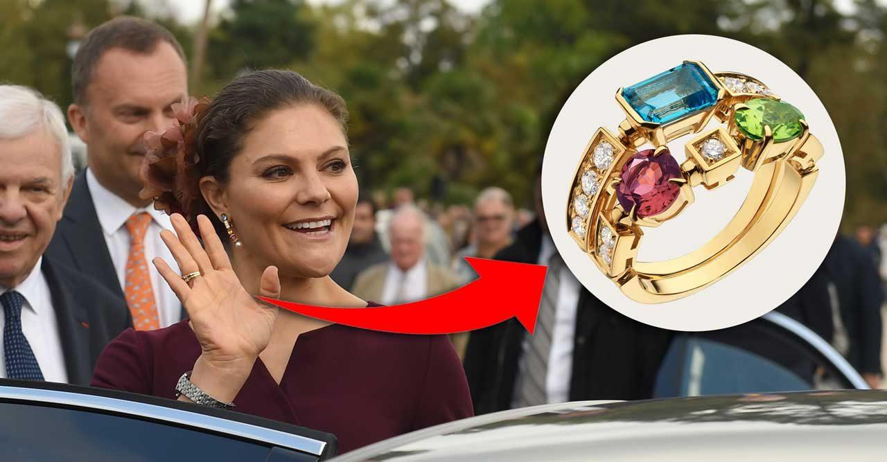Kronprinsessan Victorias bortglömda ring – trendigare än någonsin