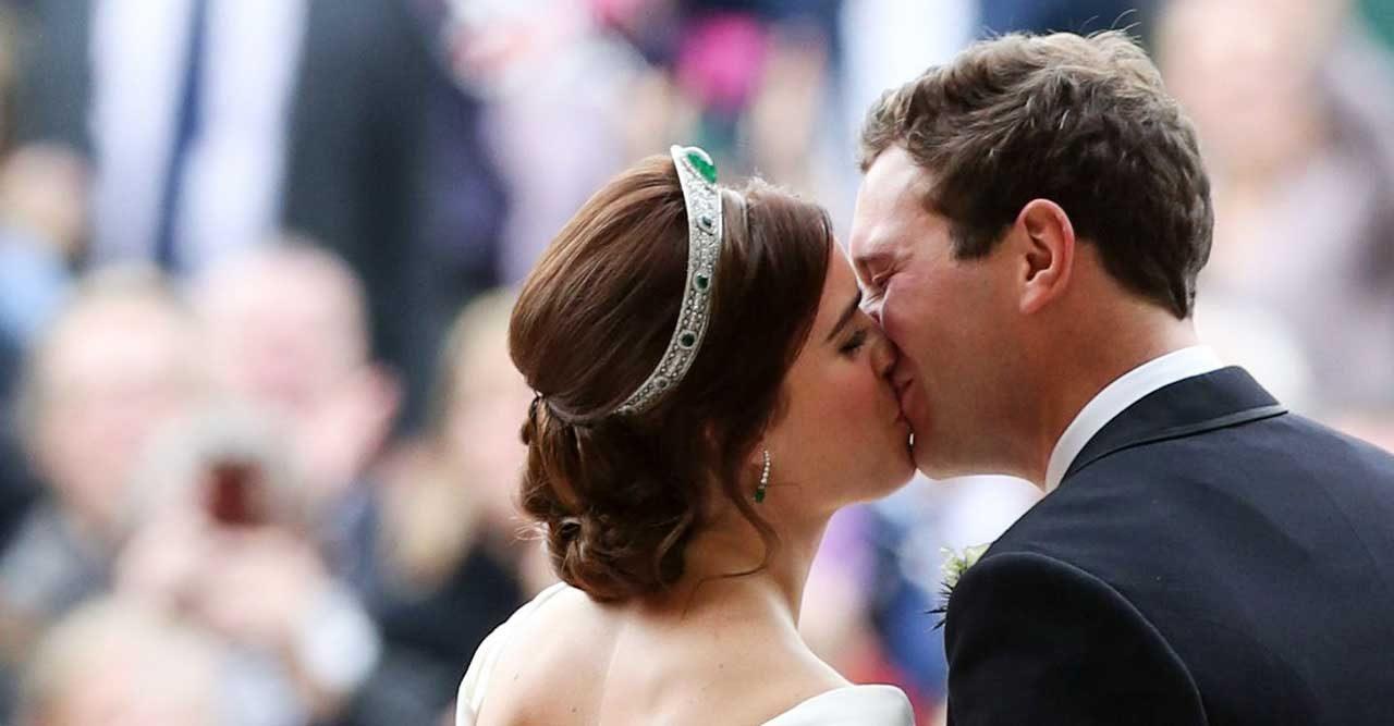 41 finaste bilderna från Eugenies och Jacks bröllop