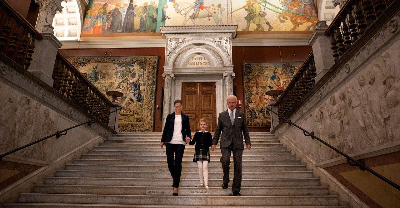 Kronprinsessan Victoria, Kungen och Estelle