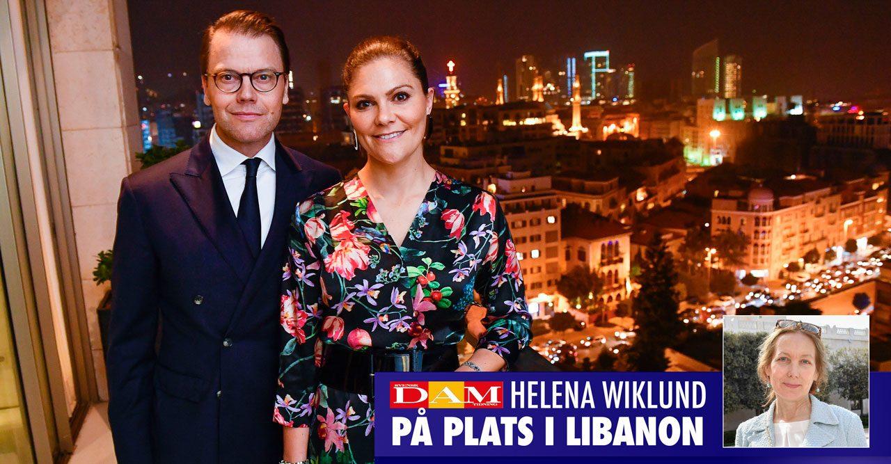 Victorias och Daniels romantiska kväll i Beirut
