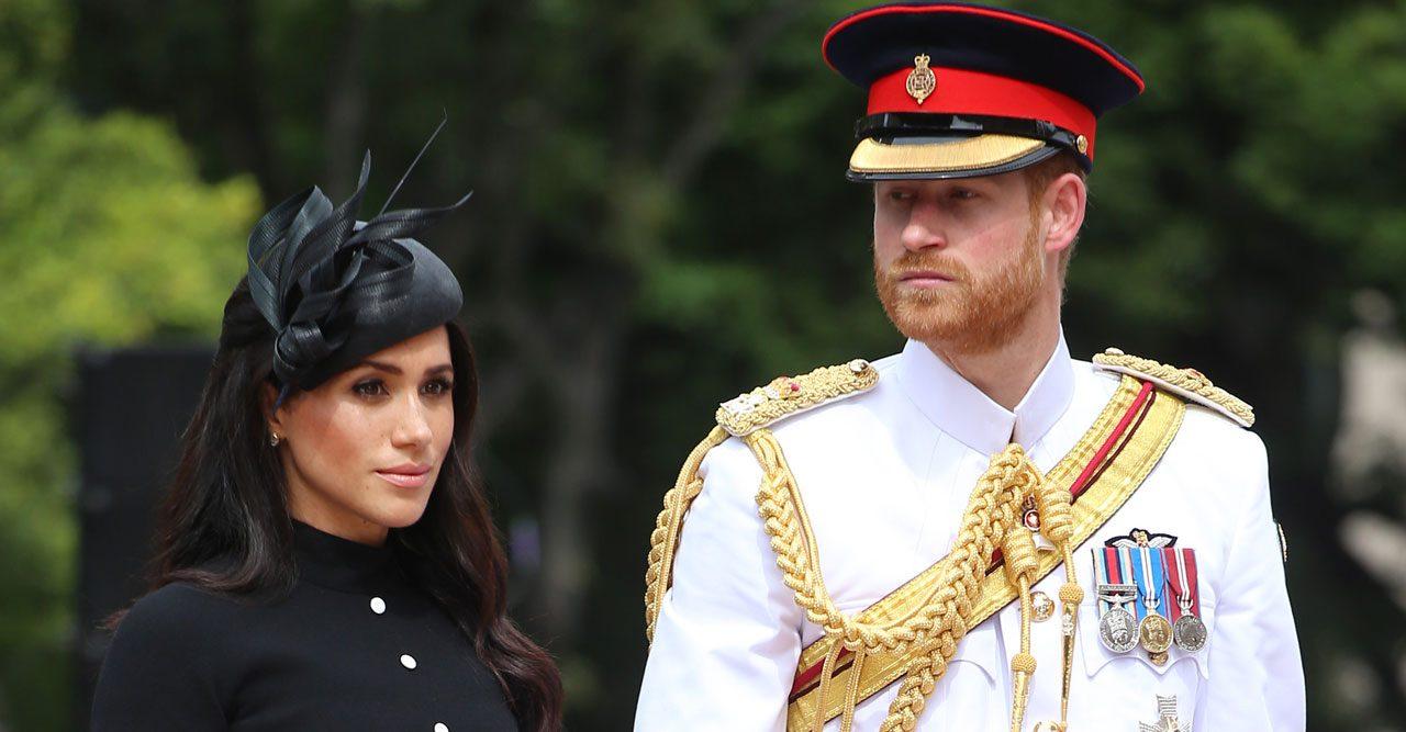Prins Harry och Meghan hedrade stupade soldater