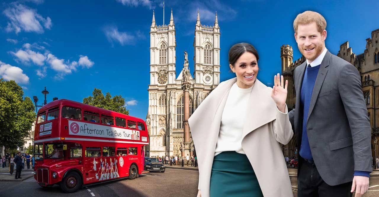 Resguide till London! Upptäck Meghans och Harrys favoriter