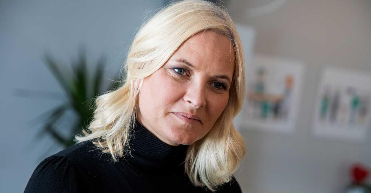 Chockbesked från norska hovet: Mette-Marit är svårt lungsjuk