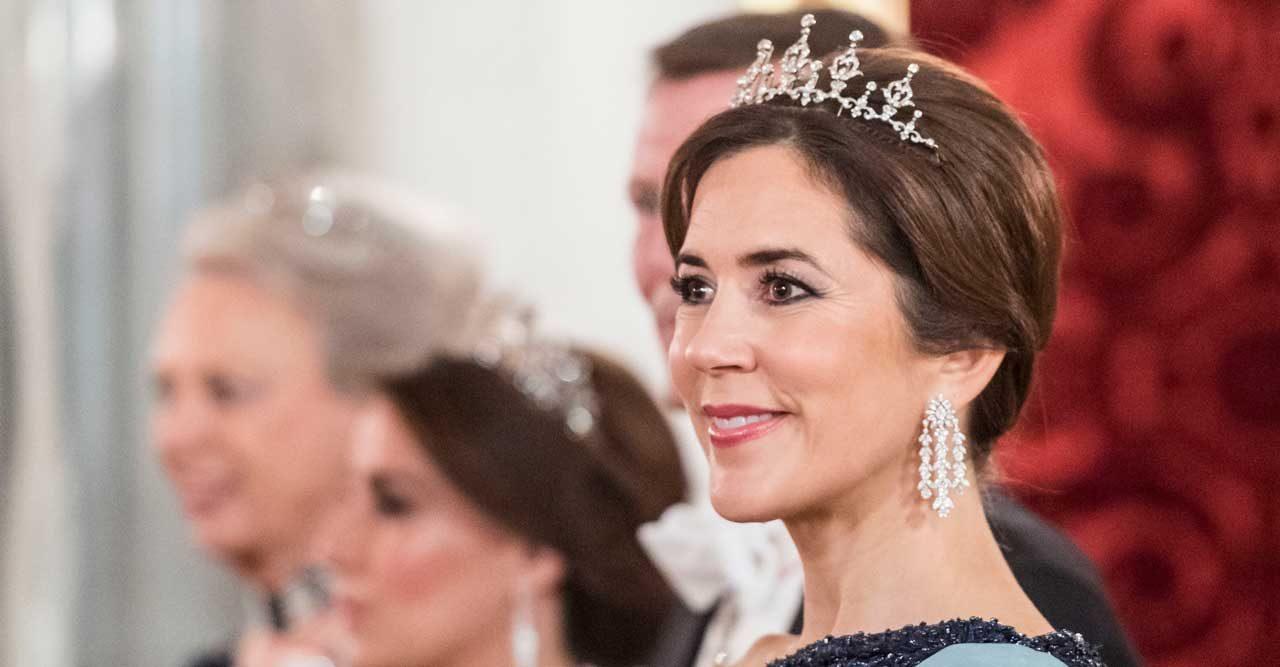 Kronprinsessan Mary med tiara