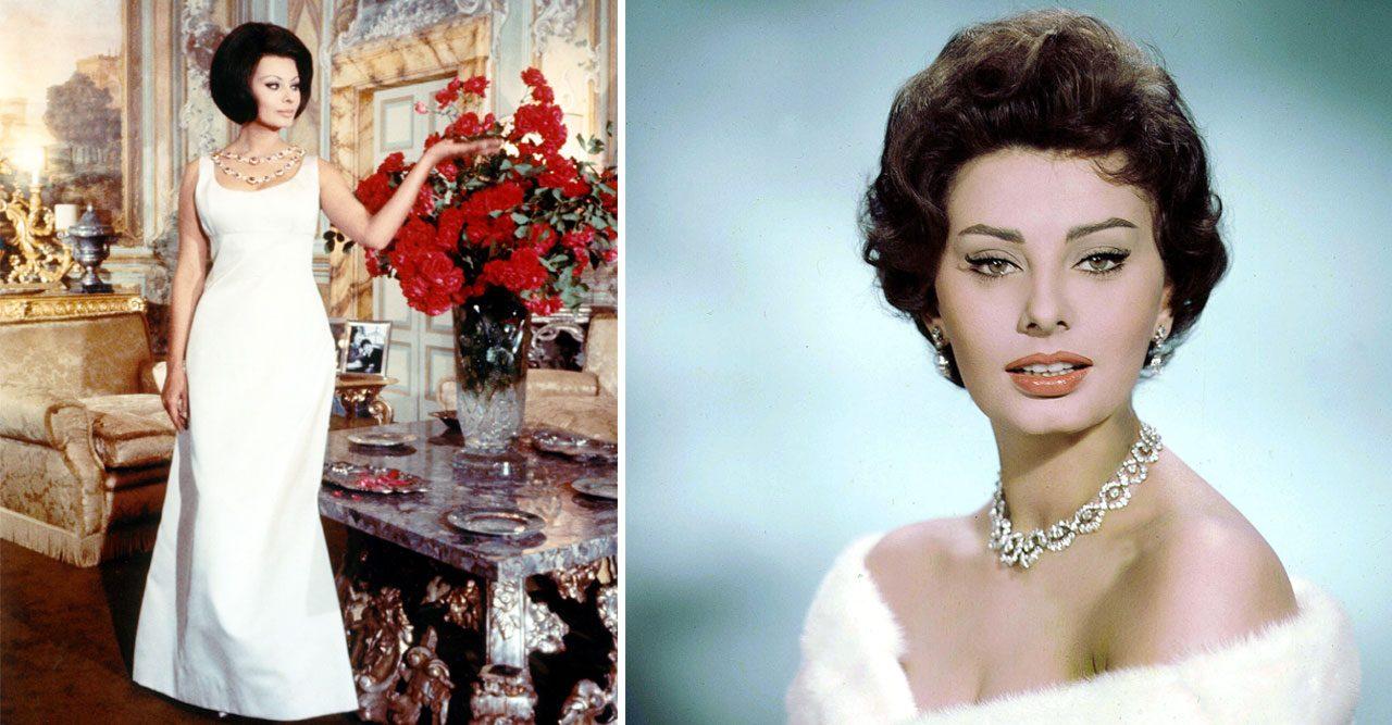 Så får du Sophia Lorens glammiga stil