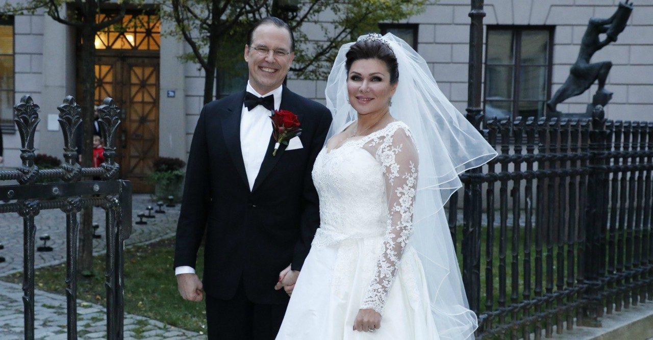 Bröllopslycka! Anders Borg och Dominika Peczynski har gift sig