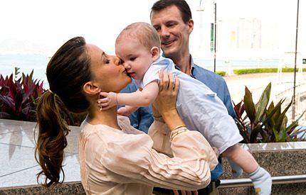 Bildspel: Maries och Joachims totala familjelycka