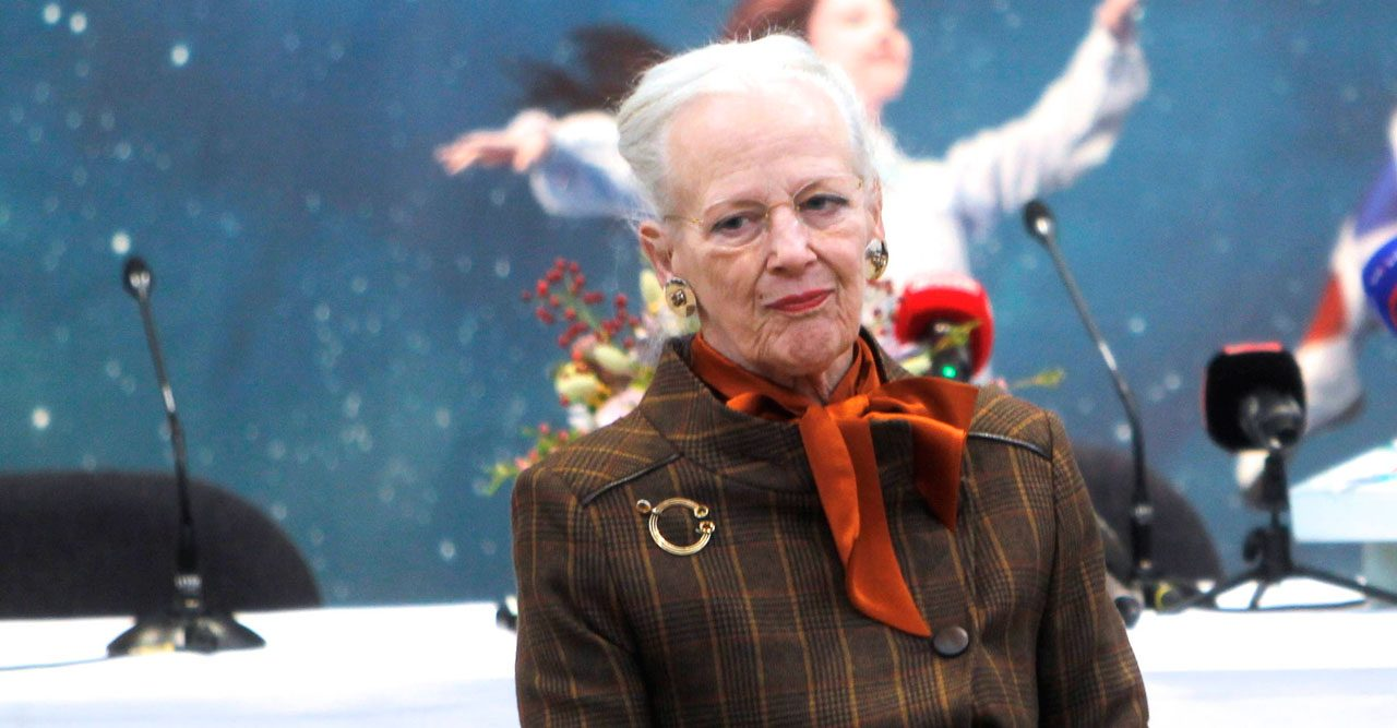 Drottning Margrethe.