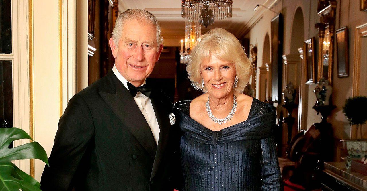Se bilderna från prins Charles stora fest