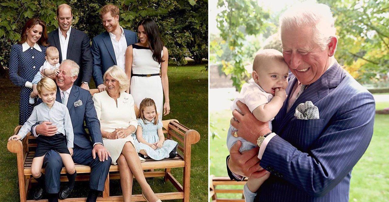 Prins Charles med familj.