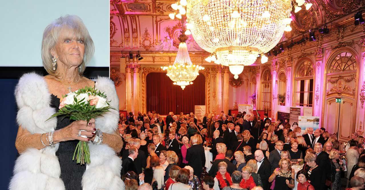 Fräck kupp under societetsfesten – mitt framför prinsessan Birgitta