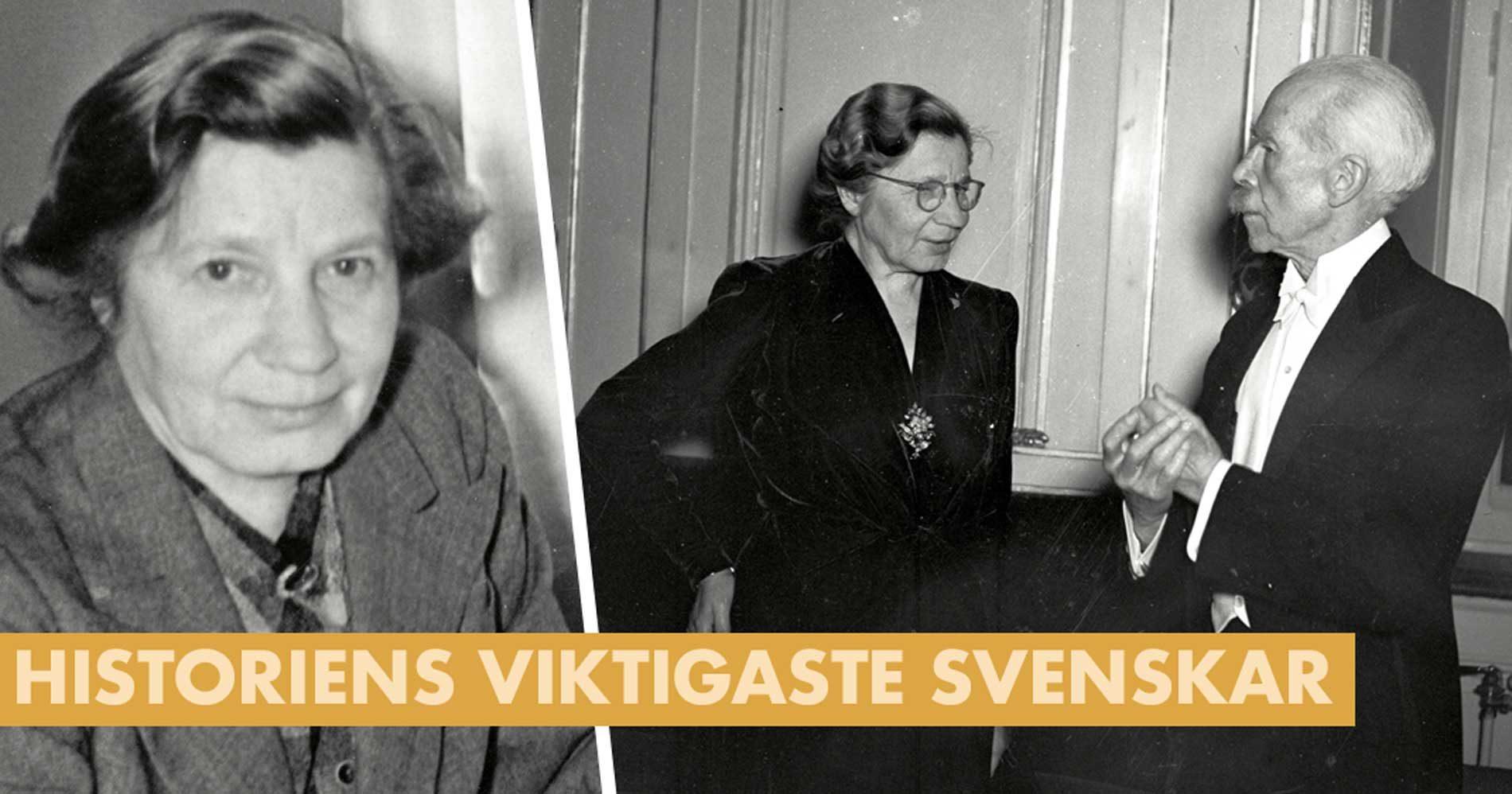 Så slogs Elin Wägner för kvinnornas rättigheter