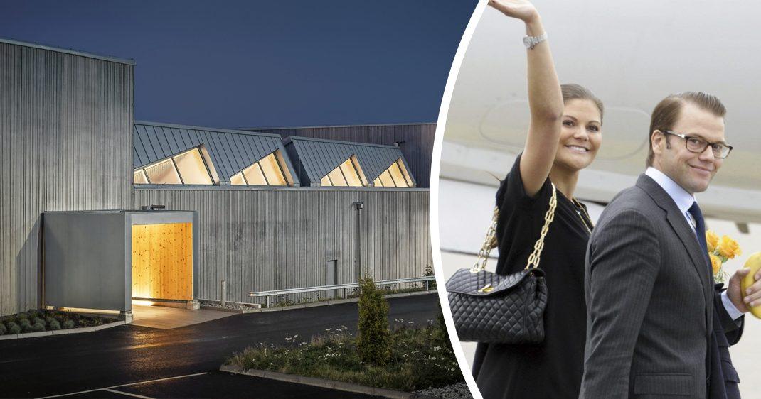 Bildextra: Så ser det ut i nya kunga-vippen på Arlanda