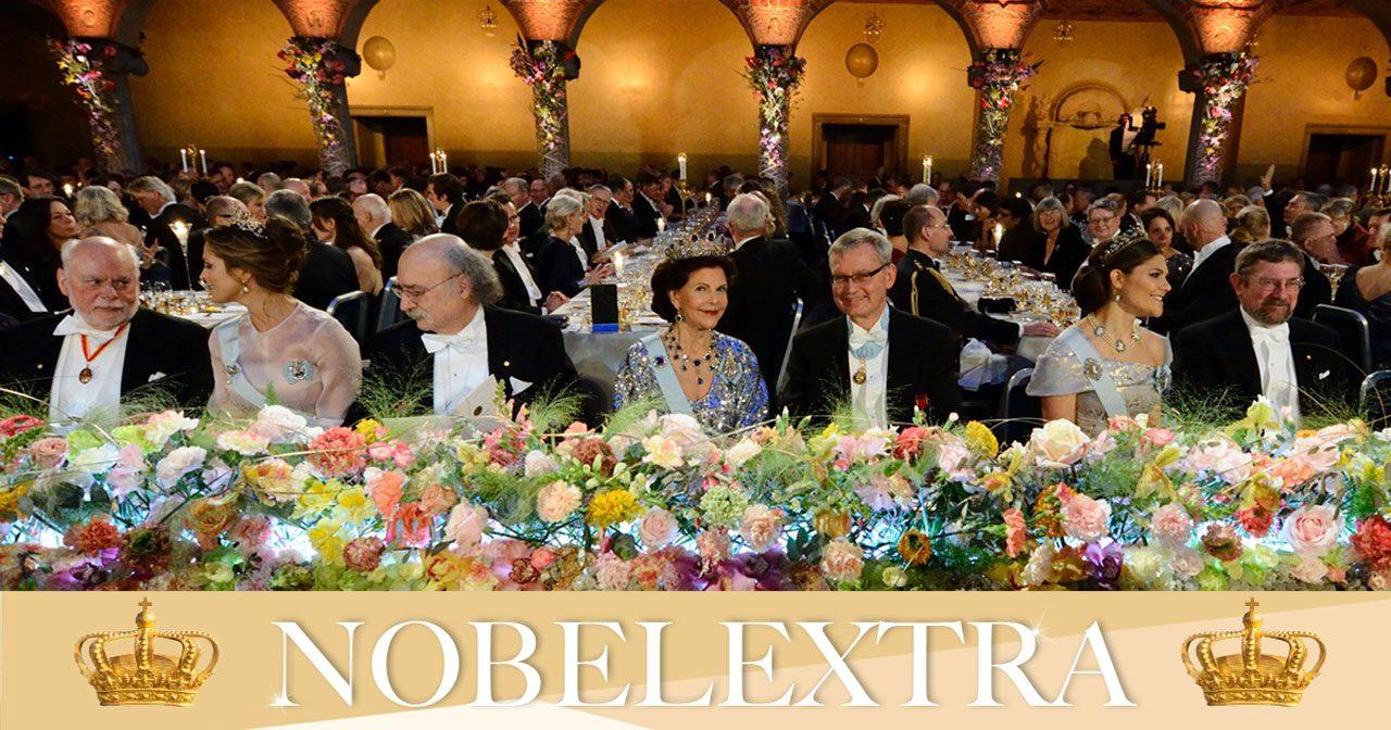 Drottning Silvia på Nobelfesten.