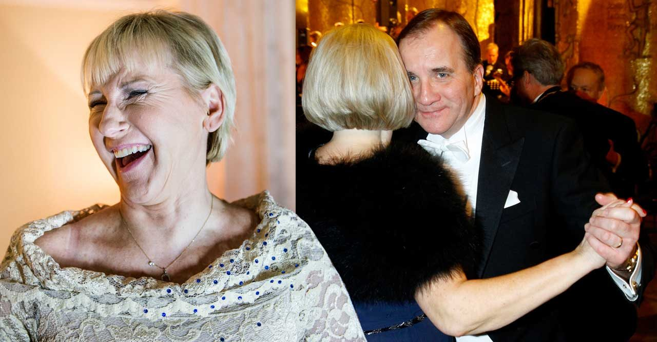 Margot Wallström Stefan Löfven Nobel