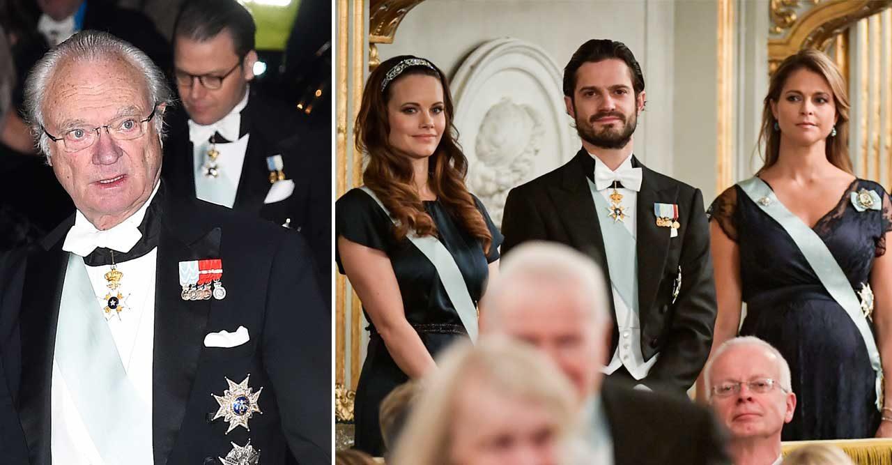 Kungens nya beslut: Stopp för Carl Philip, Madeleine och Sofia