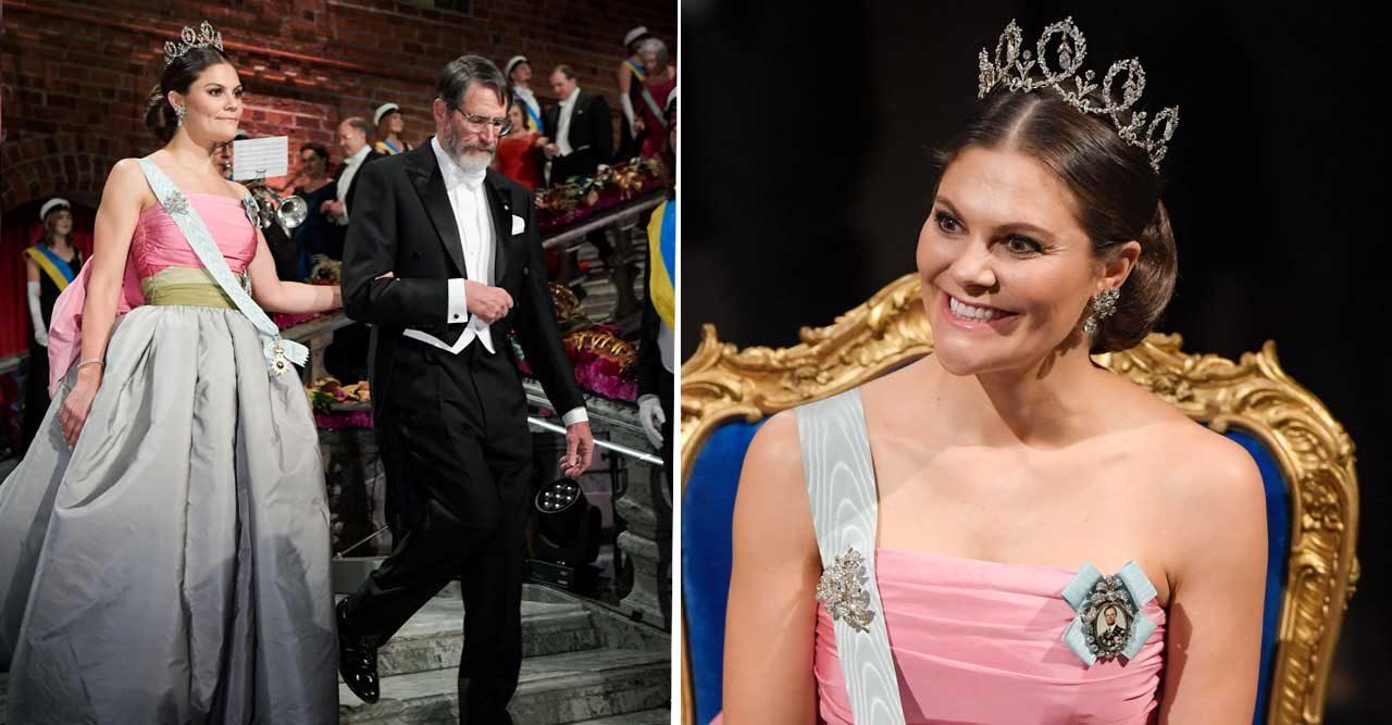 Camilla Thulin om Victorias Nobelklänning: