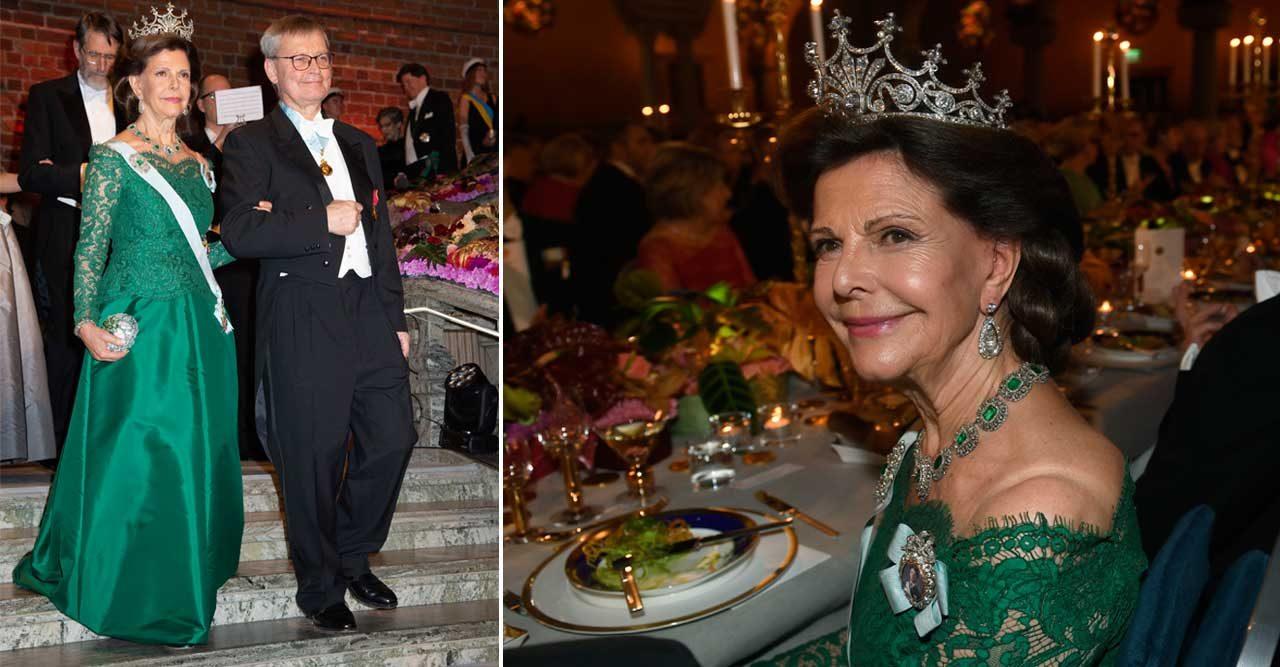 Vackraste bilderna på Silvia under Nobel 2018