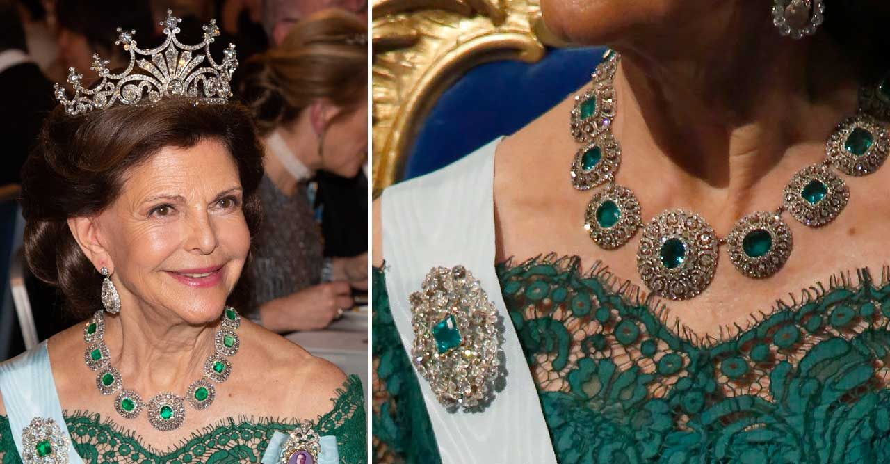 Hemligheten bakom Silvias Nobel-juveler