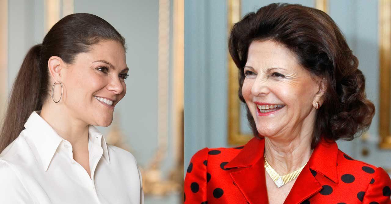 Vi avslöjar! Victorias och Madeleines tjejmiddag för drottning Silvia