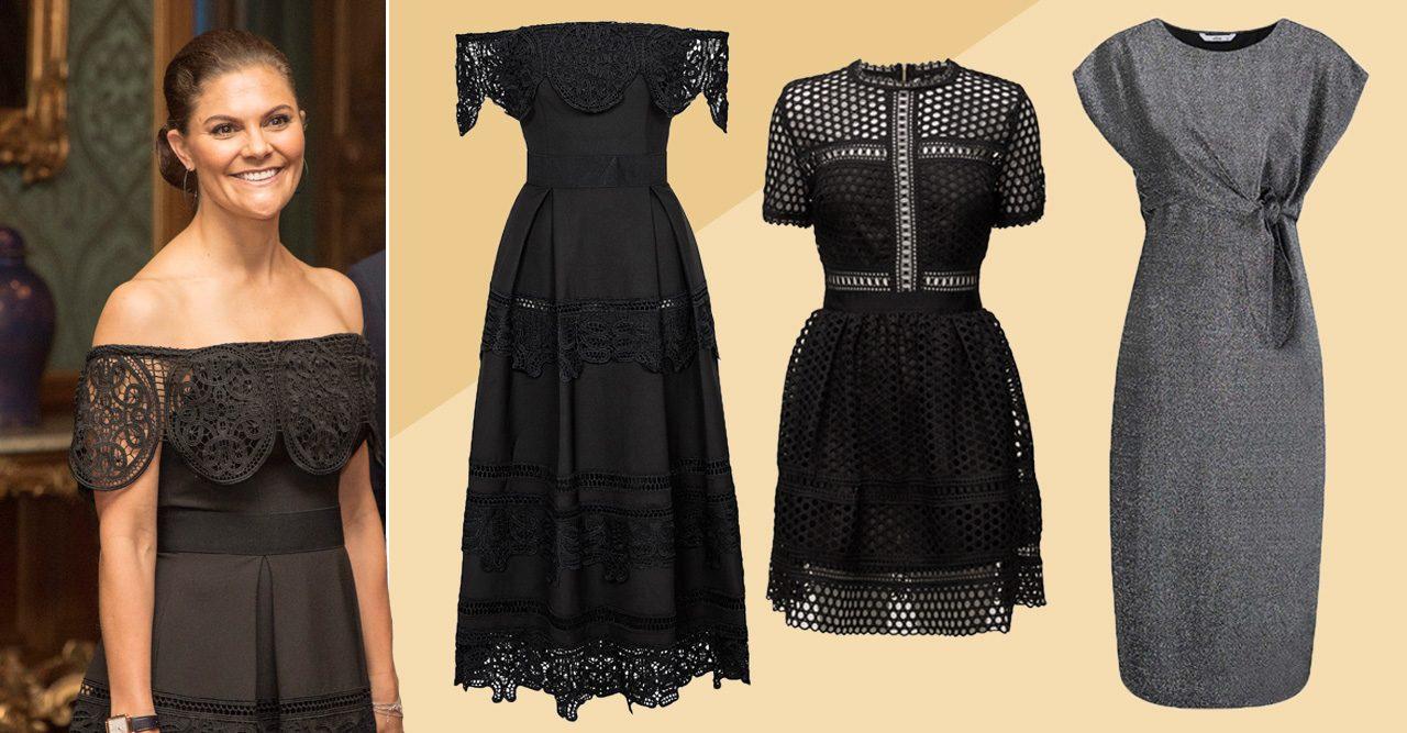 Inspireras av Victorias garderob till nyår – 7 vackra klänningar!