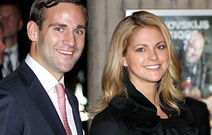 Prinsessan Madeleine förväntas bli gudmor till bästisens nyfödda son