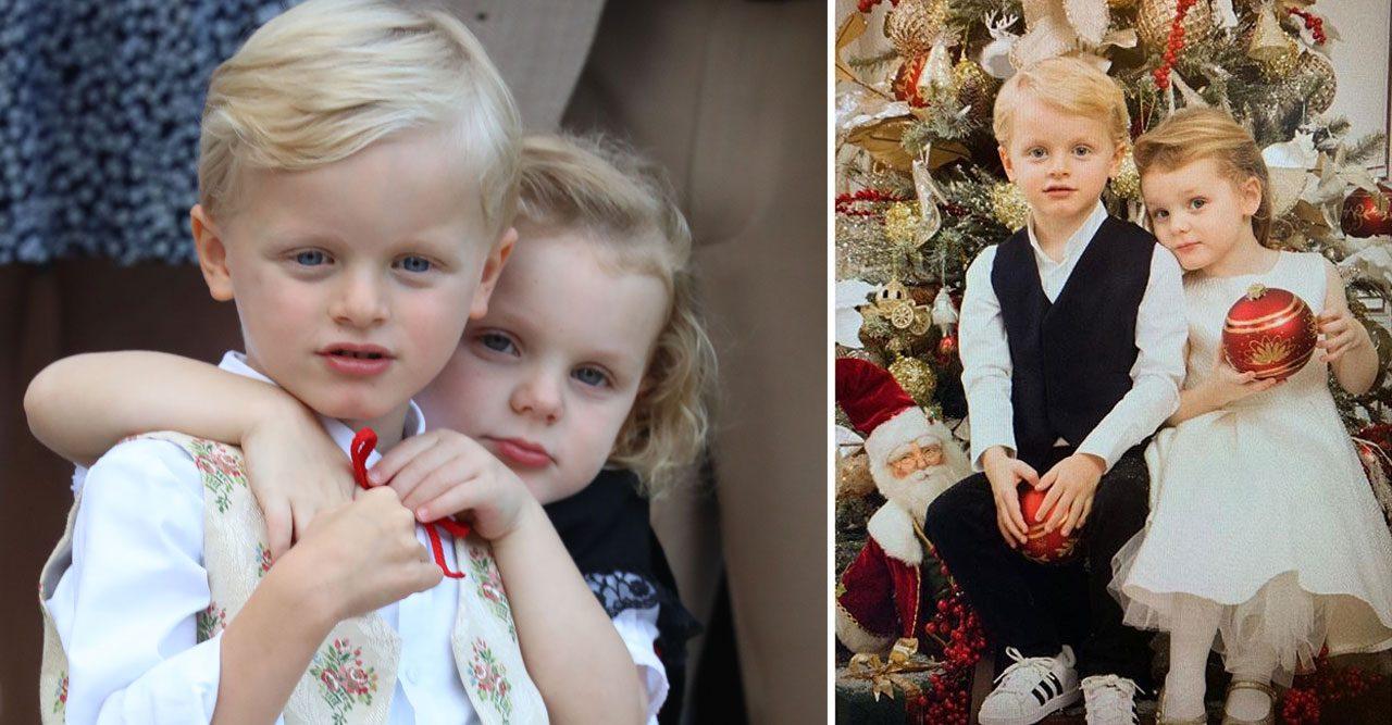 Tvillingarna Jacques och Gabriella önskar god jul  4d25337cd1314