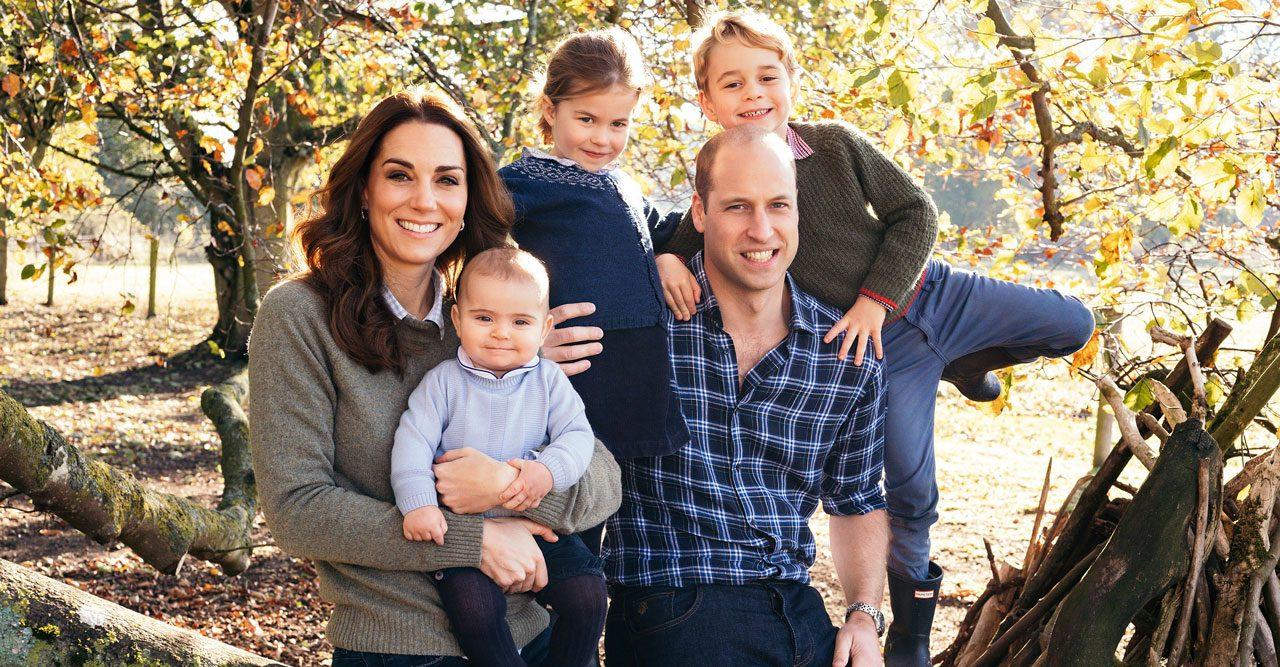 Kate och William med barnen