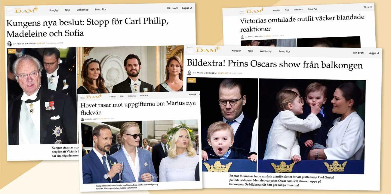Lista: Här är de mest lästa artiklarna på Svenskdam.se 2018