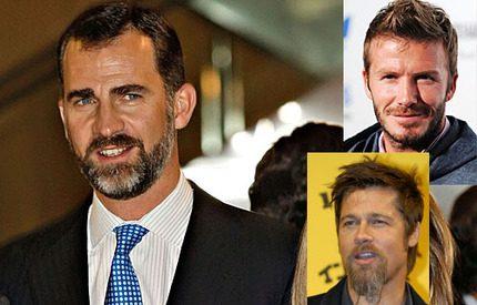 Prins Félipe snyggare än Brad Pitt och David Beckham enligt britterna…